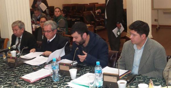 El presidente del BCB se refirió al tema, durante la audiencia en la comisión especial mixta de investigación de los papeles de Panamá