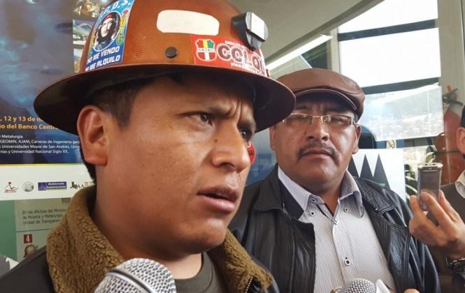 Mineros de Colquiri se declaran en estado de emergencia ante amenazas de cooperativistas