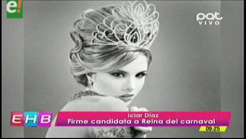 Iciar Díaz favorita para ser Reina del Carnaval 2017