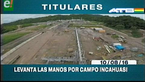 Titulares de TV: Ministerio de Autonomías levanta las manos por el tema limítrofe de Incahuasi