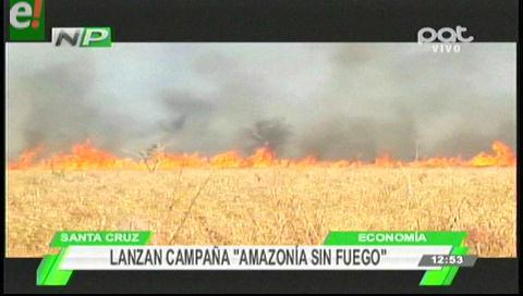"""La ABT lanza nueva campaña """"Amazonía sin Fuego"""""""