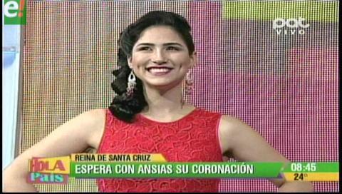 Fernanda Castedo espera con ansias su coronación