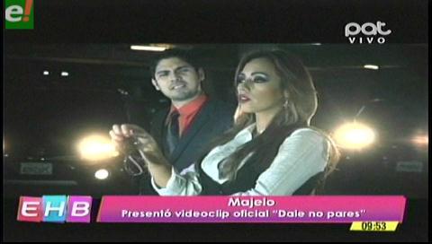 """Majelo presenta el videoclip de """"Dale no pares"""""""