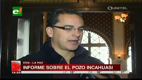 Gobernación no elevó observaciones al informe sobre Incahuasi