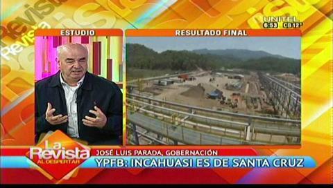 Parada: Chuquisaca tiene observaciones que son más políticas que técnicas sobre el Incahuasi