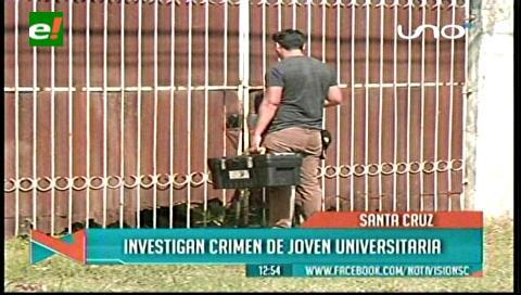 Inspeccionan casa donde mataron a universitaria Evelyn Pacheco