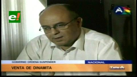 Ministerio de Defensa suspende la venta de dinamita a mineros cooperativistas