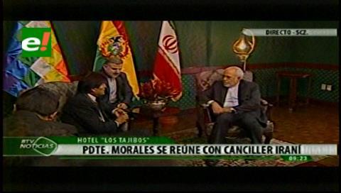 Irán y Bolivia inician cita para alentar el comercio