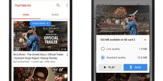 YouTube Go es la nueva aplicación oficial para descargar y compartir vídeos sin conexión
