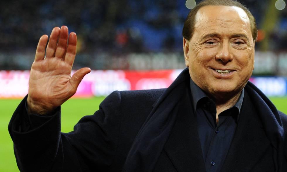 El empresario y político Silvio Berlusconi.