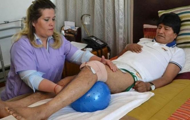 Evo Morales nuevamente se encuentra en reposo por recomendación médica