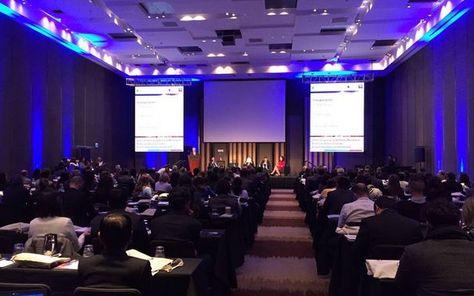 Foro Empresarial del Pacto Mundial que se desarrolla. Foto: @Centro_Regional