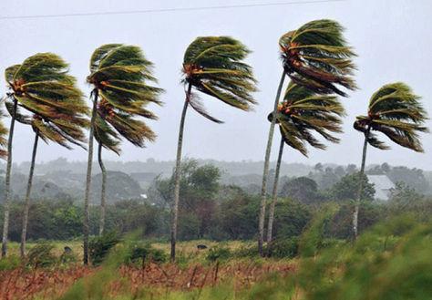 Se pronostican fuertes vientos en Chuquisaca, Santa Cruz y Tarija.