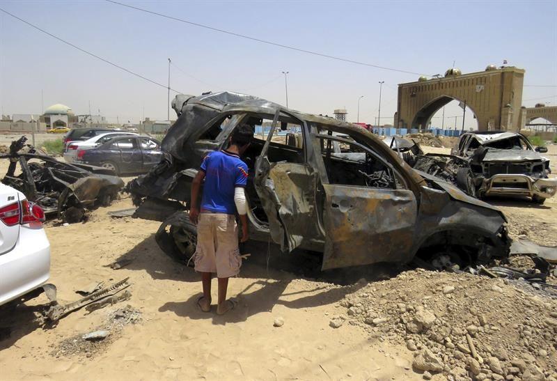 Resultado de imagen para Mueren 11 civiles por el estallido de bombas cuando huían del EI en Irak