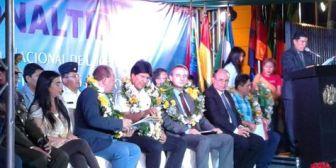 Bolivia destina $us 400 MM a la lucha antidroga y la UE 'revalida' apoyo a la estrategia nacional