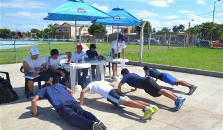 Resultado de imagen para 100 árbitros rinden su examen físico