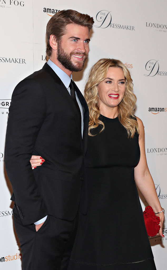 Liam Hemsworth, Kate Winslet