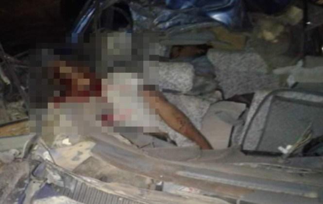 Accidente de tránsito en la carretera a Yungas deja tres personas fallecidas