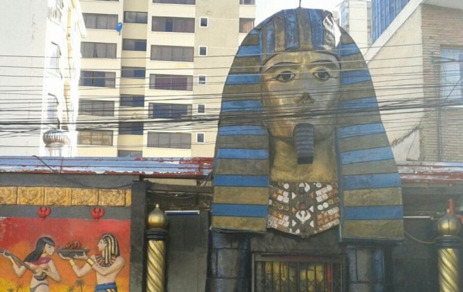 Fiscalía precinta bar Katanas y abogada suspende destrucción de la cabeza del faraón