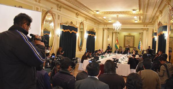 Los delegados buscan que esa instancia permita agilizar el debate para garantizar la distribución de recursos económicos.
