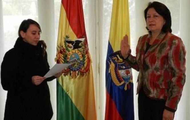 Embajadora de Colombia dice que Evo está invitado a la firma de la paz y que Bolivia envió una avanzada