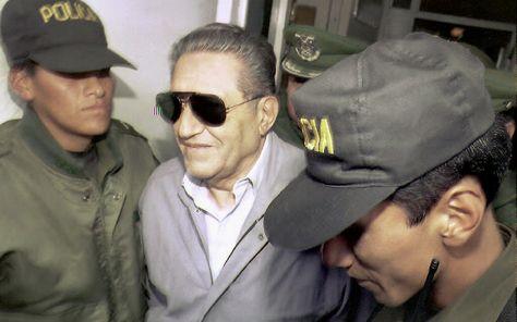 El exdictador Luis García Meza. Foto: AFP