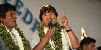 Evo anuncia para este año nueva ley de la coca