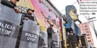 Descubren paredes falsas en el Katanas de La Paz