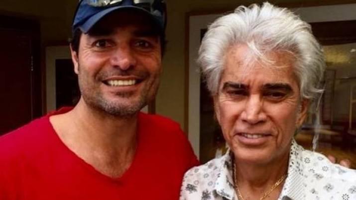 Chayanne y El Puma Rodríguez grabando en Miami