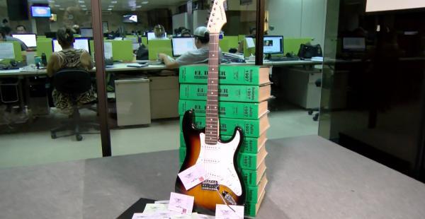 Aerosmith guitarra