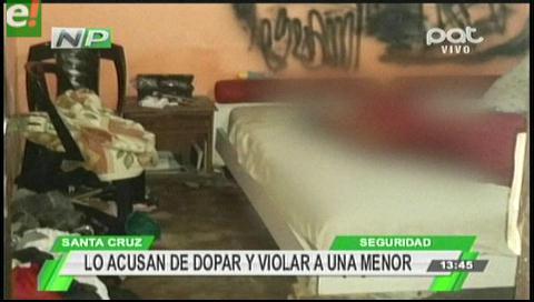 Exreo de Palmasola es acusado de abusar y dopar a una menor