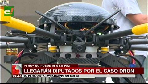 Caso Dron: Comisión de la Cámara de Diputados llegará a Santa Cruz
