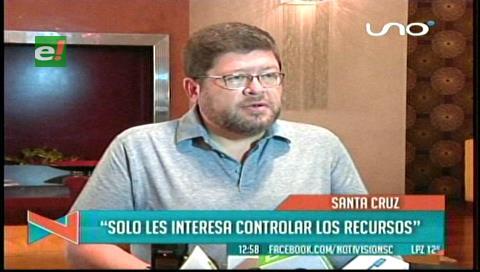 Samuel: Postergar la redistribución de recursos deteriora más la situación de las regiones