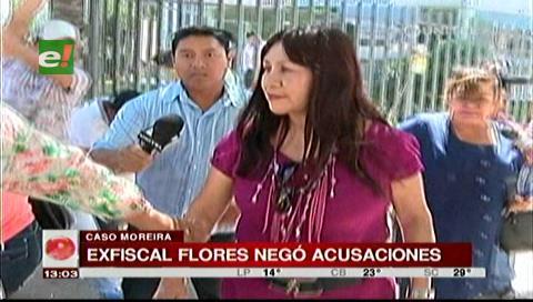 Ex fiscal Flores niega participación en operativo que generó investigación a Moreira