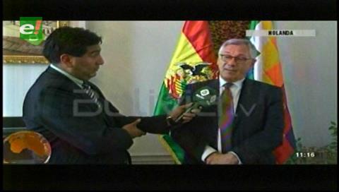 Rodriguez Veltze pondera unidad de bolivianos y celebra ambiente cordial en reunión con Chile