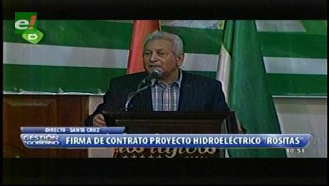 Costas reconoce que Rositas es un proyecto de hace aproximadamente 50 años