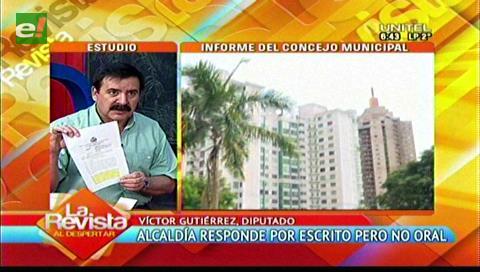 """Diputado Gutiérrez: """"Ni en el federalismo se puede escapar a los controles parlamentarios"""""""