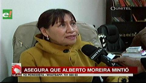 Ex fiscal Esther Flores acusa a Moreira de mentir en sus declaraciones