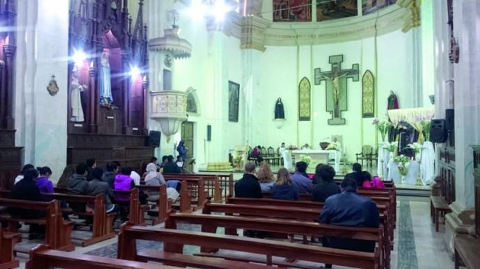 HOMILÍA. Monseñor Pérez ofició la ceremonia.