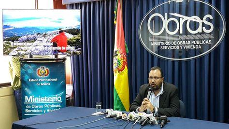 Ministro Milton Claros informa sobre la Reunión de Alto Nivel sobre Transporte Sostenible de Países en Desarrollo sin Litoral
