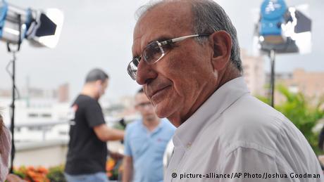 Kolumbien Chefunterhändler der Regierung Humberto De la Calle (picture-alliance/AP Photo/Joshua Goodman)