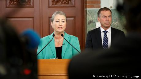 Norwegen Nobelpreis für Santos (Reuters/NTB Scanpix/H. Junge)