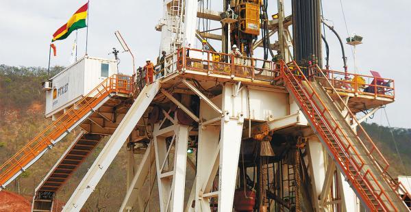 Con el hallazgo                      se garantiza la                     entrega de gas                comprometidas para el mercado              interno y externo