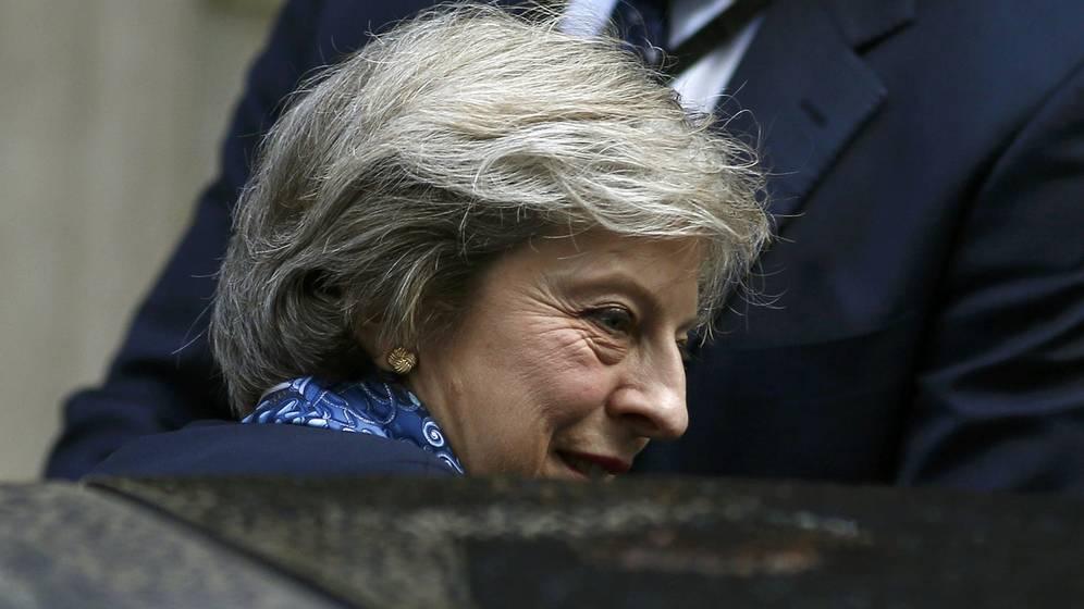 Foto: La primera ministra del Reino Unido, Theresa May.