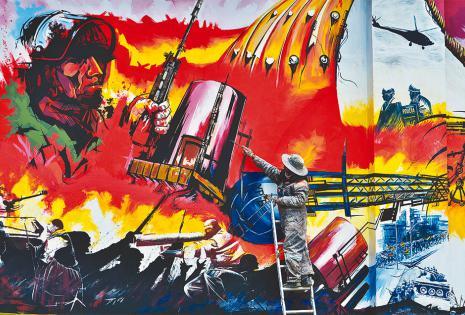 Desde finales de septiembre y hasta el 17 de octubre, el pueblo sangró en las calles para echar a Goni