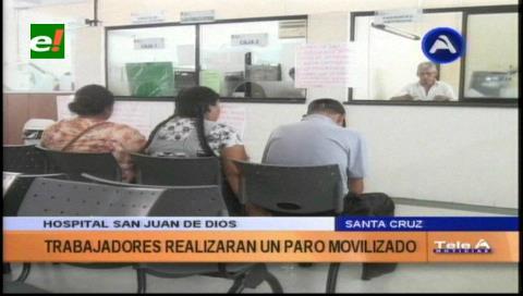 Trabajadores del San Juan de Dios pararán media jornada hoy