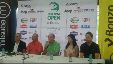 Comienza la fiesta del golf profesional en la tercera edición del Bolivia Open Mitsuba