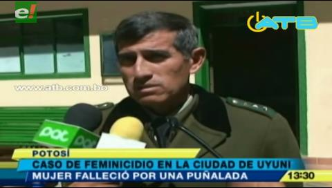 Potosí: Mujer pierde la vida tras ser apuñalada por su concubino
