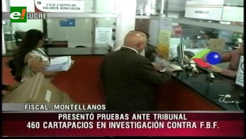 Fiscalía presenta pruebas contra Carlos Chávez