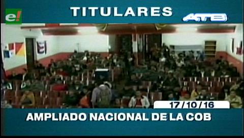 Titulares de TV: Ampliado de la COD de Santa Cruz define que el pago del doble aguinaldo no se anula